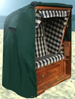 luxus strandkorb schutzh lle h lle premium abdeckung haube 110 140cm plane neu. Black Bedroom Furniture Sets. Home Design Ideas